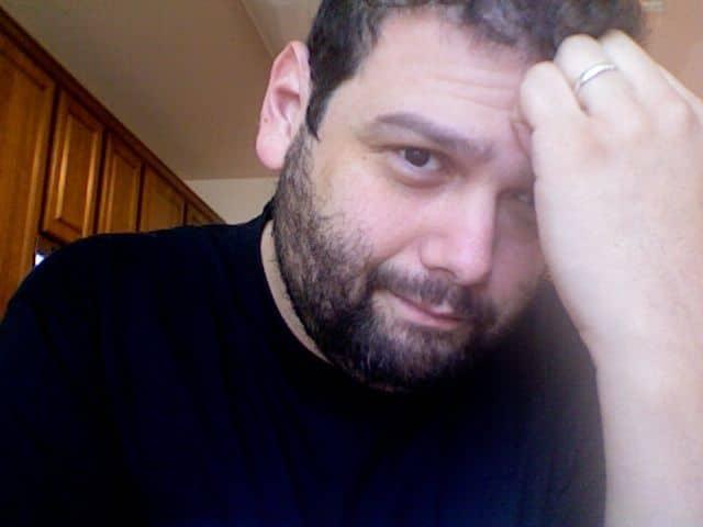 Writer Alvaro Rodriguez