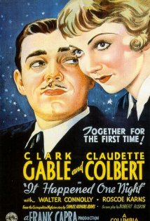 "The original ""It Happened One Night"" poster"