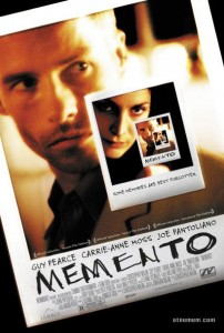 "Poster for Christopher Nolan's ""Memento"""