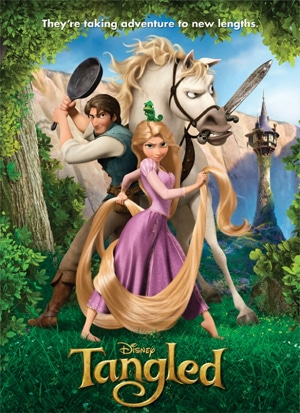 "Poster for Disney's ""Tangled"""