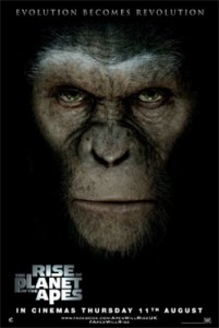 "Poster for ""Rise of the Planet of the Apes"""
