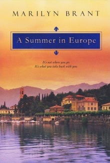 """Cover of """"A Summer in Europe"""" - a current Kindle bestseller"""