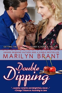 """Cover of """"Double Dipping"""" - a current Amazon Top 100 ebook in the Humor category"""