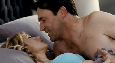 Jon Hamm makes for a memorable opening image.