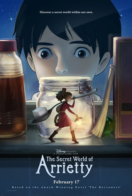 "Poster for ""The Secret World of Arrietty"""
