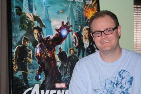 Writer Cory Milles