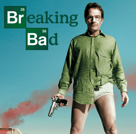 "The now-iconic ad for ""Breaking Bad"""