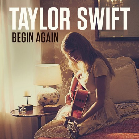 "Album Art for Taylor Swift's Single, ""Begin Again"""