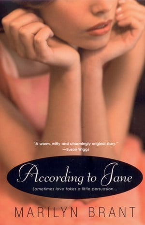 "The cover of ""Accoding to Jane"" -- Marilyn's debut novel"
