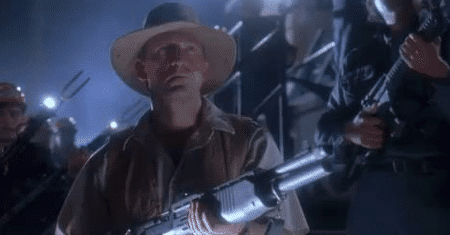 He's going to need a bigger gun.