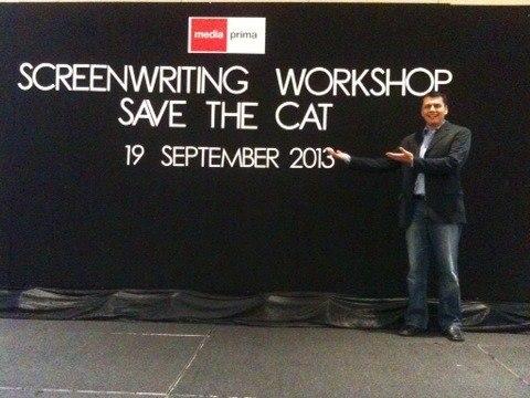 Jose Silerio before his class in Malaysia