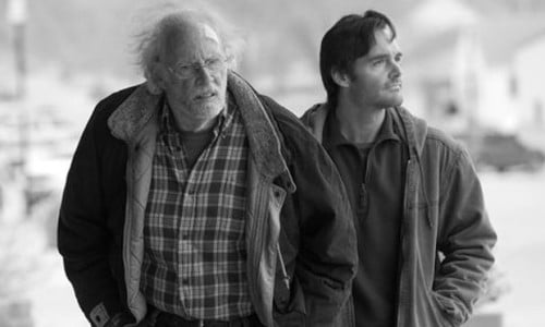 Bruce Dern and Will Forte as Woody and David Grant