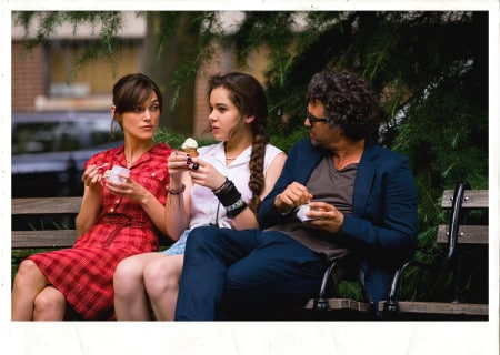 Keira Knightley, Hailee Steinfeld and Mark Ruffalo