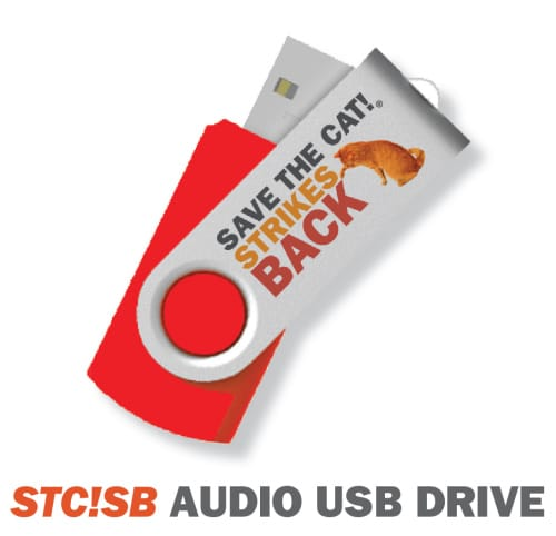 The audiobook is available on 3 platforms, including a usb flashdrive
