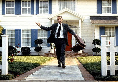 "Kevin Spacey in ""American Beauty"""