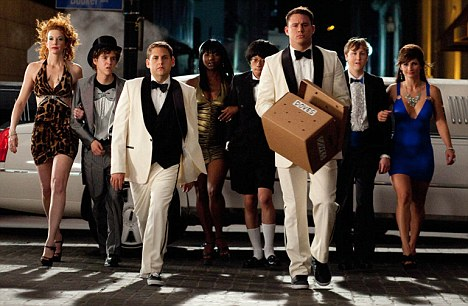 Jonah Hill, Channing Tatum and friends in 21 Jump Street