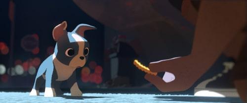 Winston the dog in Feast from Walt Disney Animation Studios