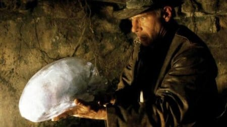 Archaeologist Indiana Jones has a close encounter with an alien artifact