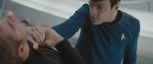 All is lost for Spock.