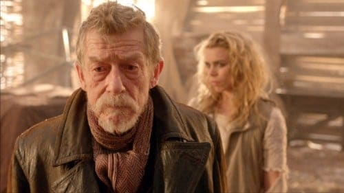 The War Doctor debates whether or not to end two civilizations in the name of peace.