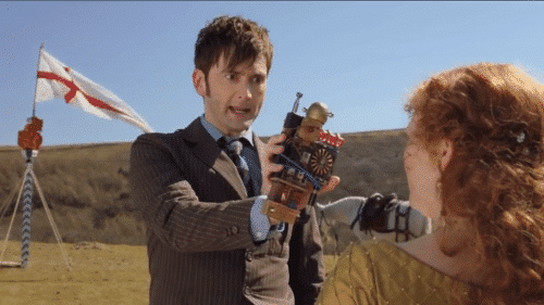 "Fun and Games detecting Zygons… with a thing that goes ""ding!"""
