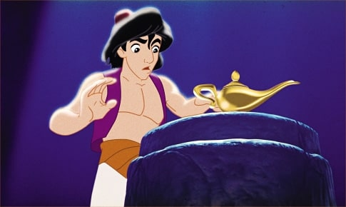 Aladdin finds the key to making his life better… or so he thinks.