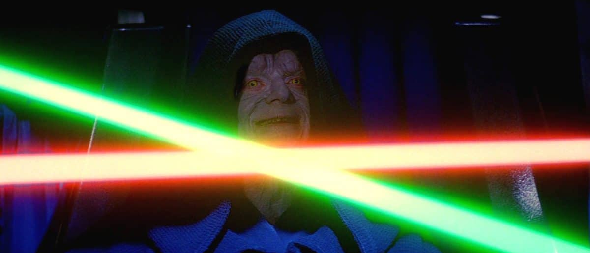 After all is lost for Luke, he comes dangerously close to joining the Dark Side by killing the Emperor.