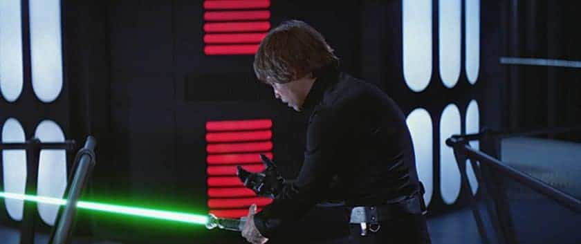 Luke digs deep down as he sees a reflection of himself in his father.