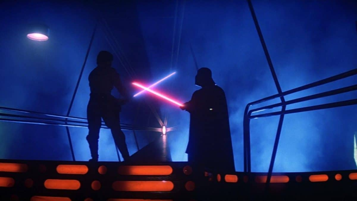A final showdown in which Luke must trust the Force over his fears.