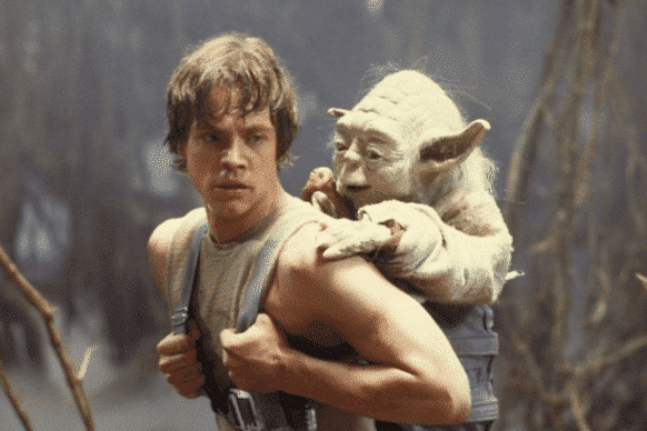 Luke must learn to use the Force from Yoda.