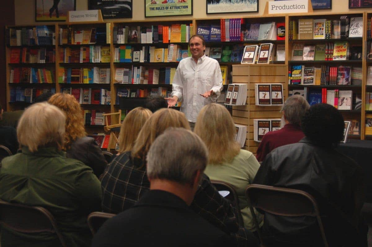 Blake Snyder at The Writers Store