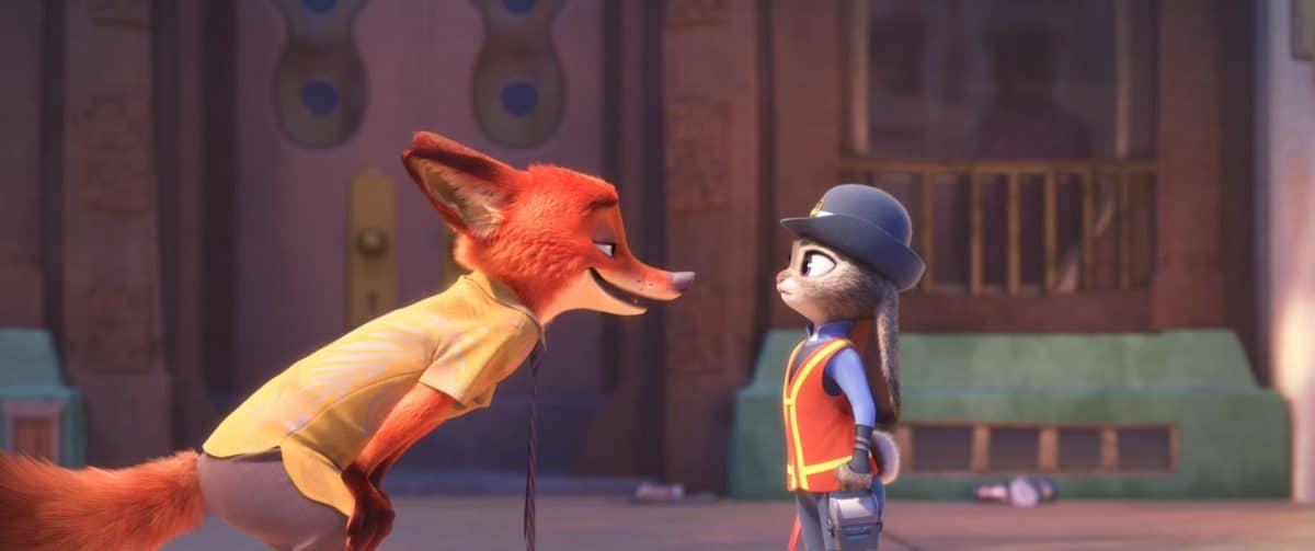 Nick tells Judy she's not a real cop as she debates her role in Zootopia.