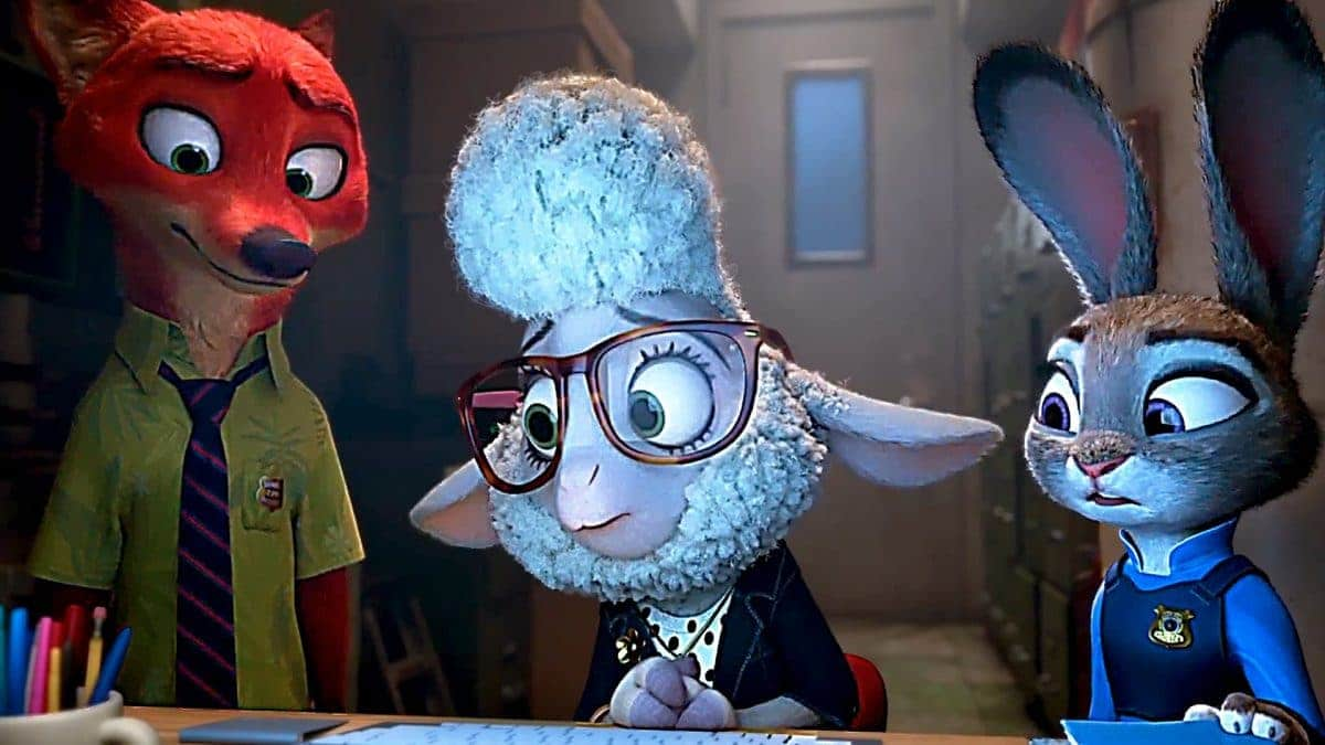 Bellwether helps Judy and Nick track the Bad Guys.