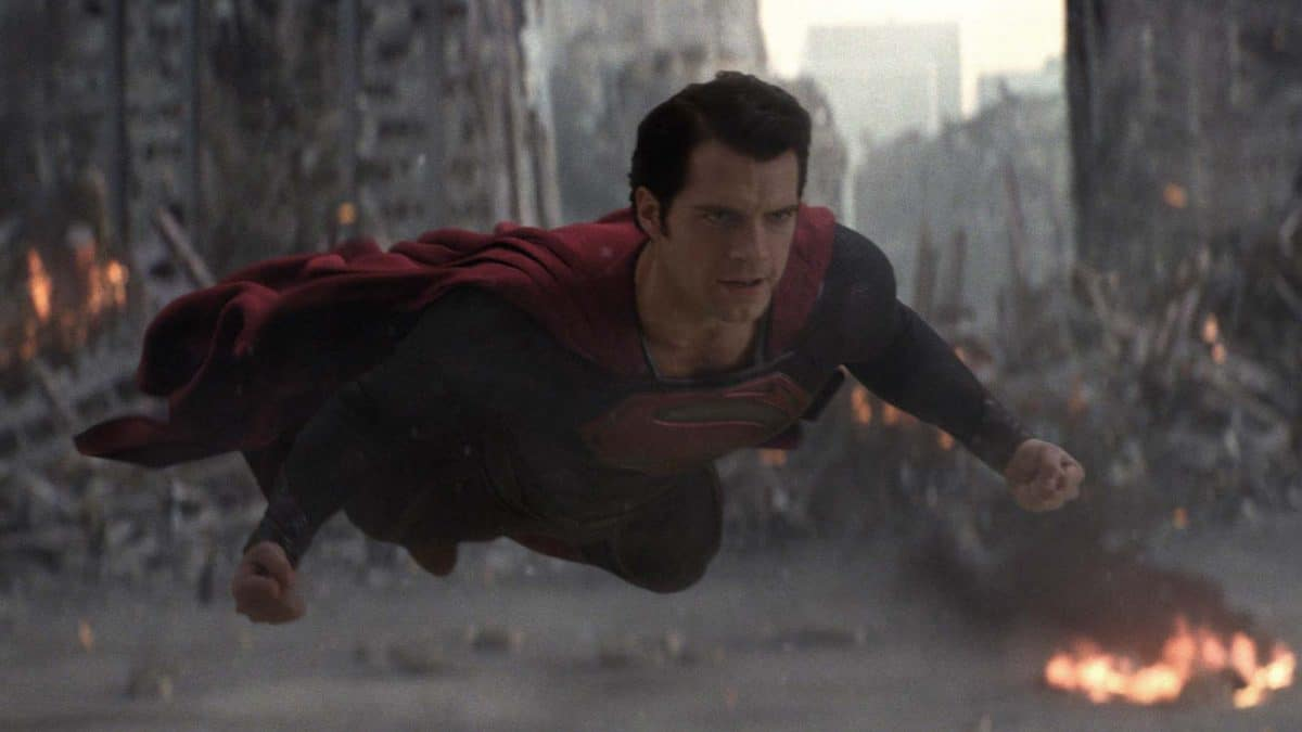 Kal-El takes flight during the fight-filled Finale.