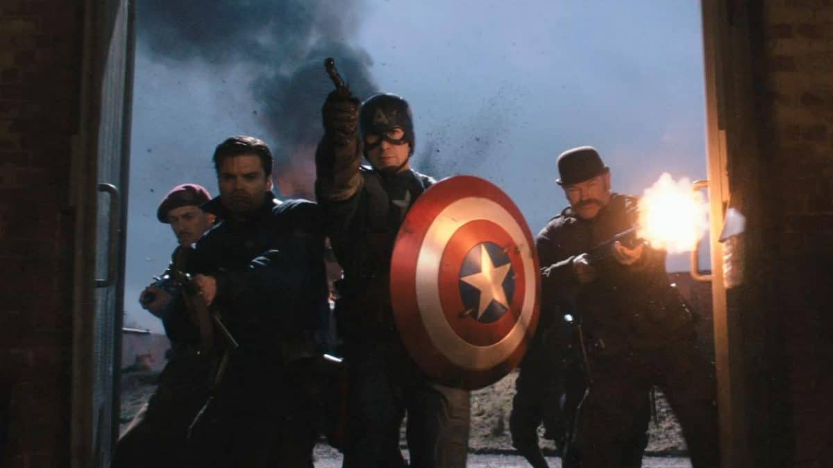 Cap and the Howling Commandos close in on the bad guys of Hydra.