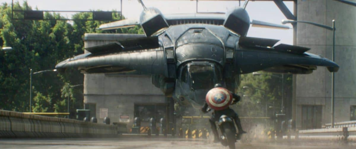 It's not going to be Fun & Games much longer for that Quinjet.