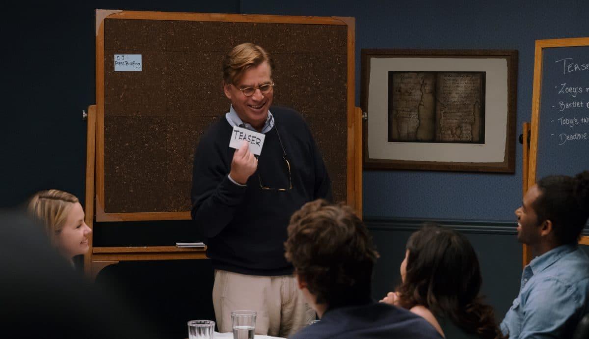Aaron Sorkin at his Board