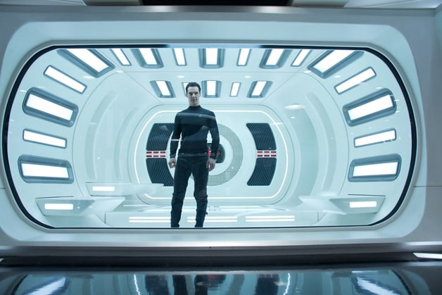 Khan in the trailer from Star Trek Into Darkness.