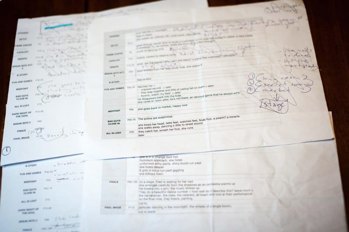 another view of Paul's beat sheet