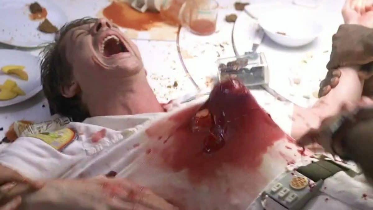 John Hurt as Kane in Alien