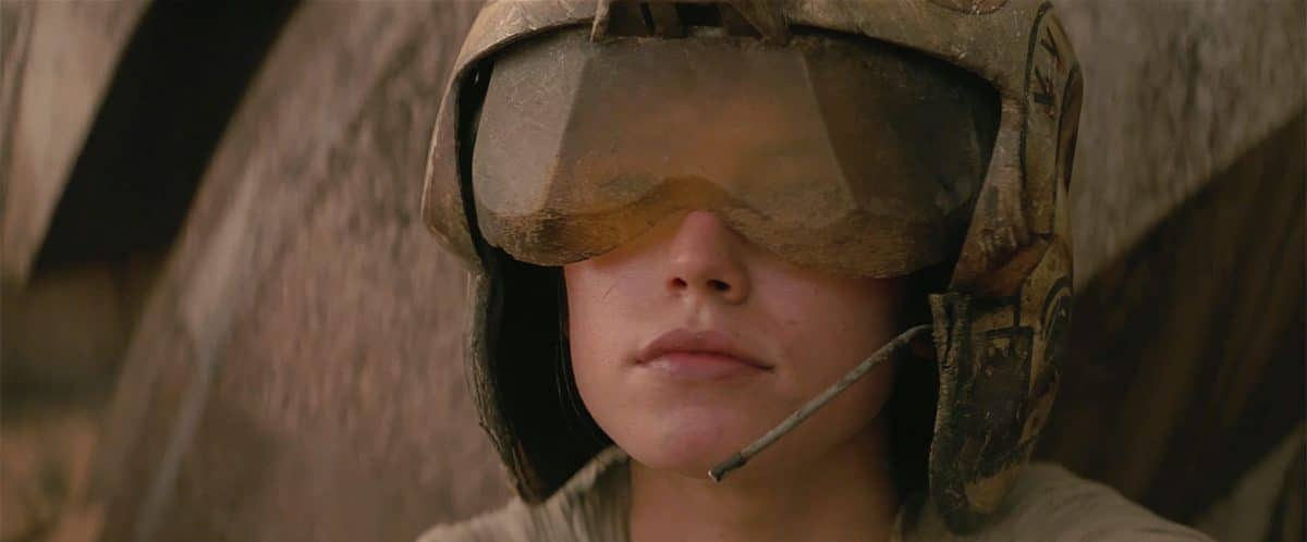 For Rey, it's stasis=death as she lives a life without her family.