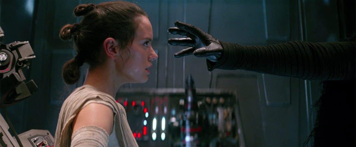 Rey resists the Dark Side in her Dark Night of the Soul.