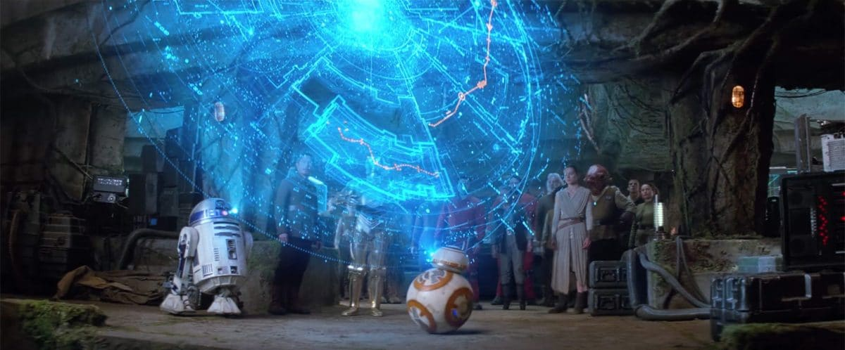 The prize in this Golden Fleece story is finally complete… the map to Luke Skywalker.
