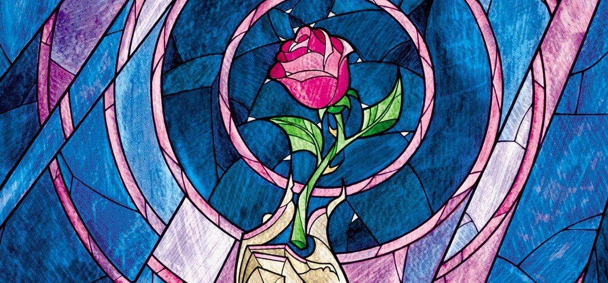 The rose is symbolic of the complication and the time clocks in this Buddy Love story.