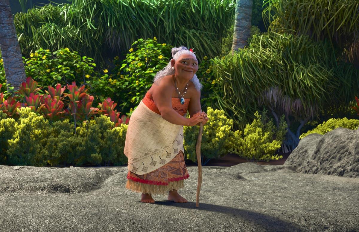 Gramma Tala, voiced by Rachel House