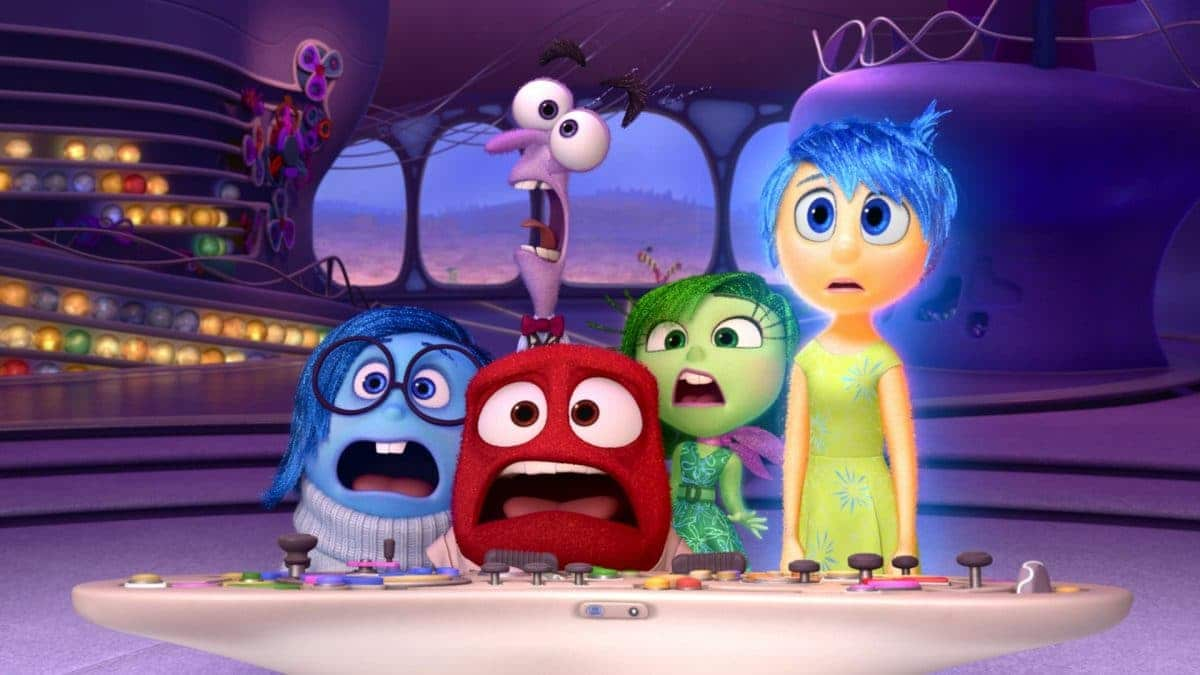 The emotions of Inside Out