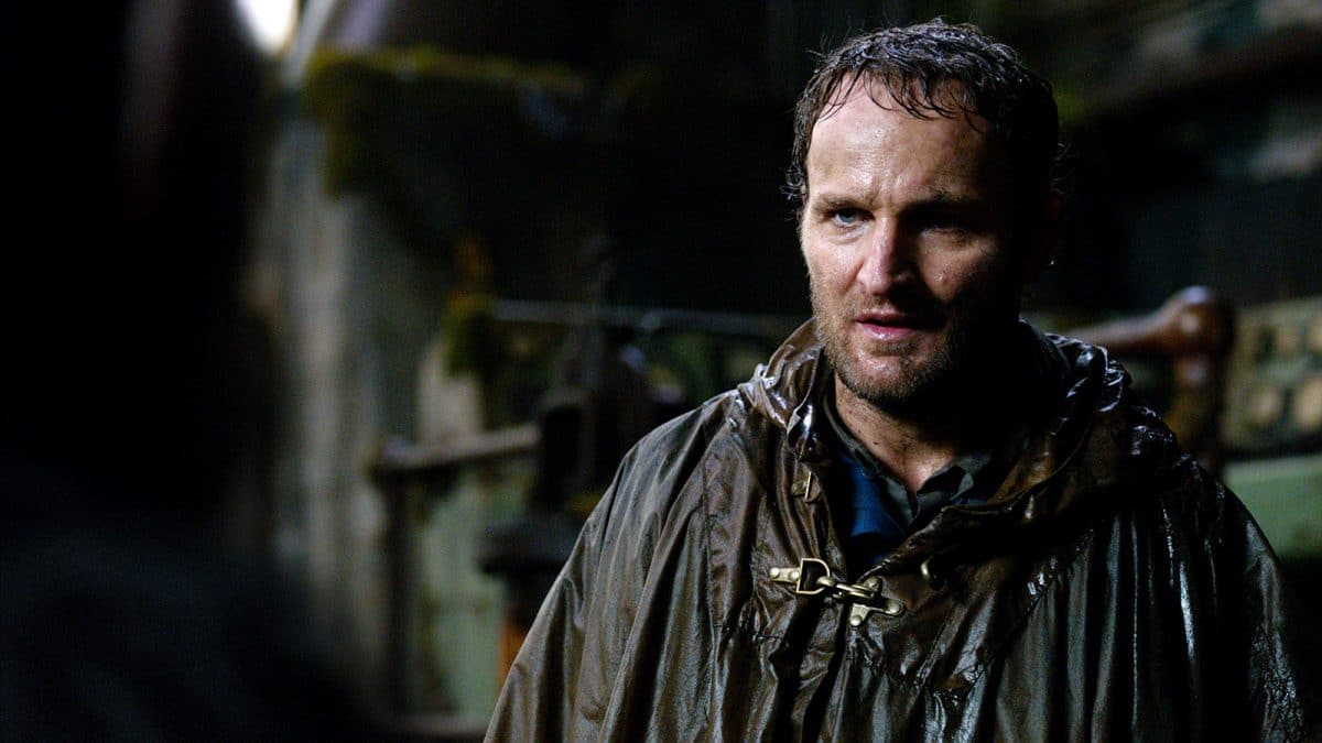 Malcolm (Jason Clarke) believes the humans and apes can coexist.