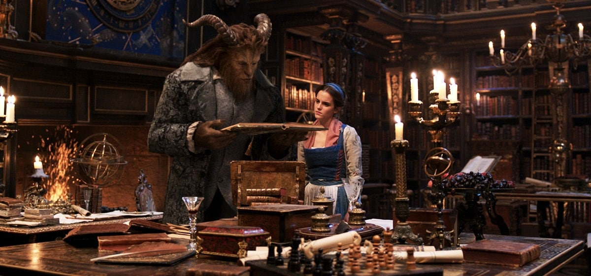 The Beast eventually learns to bear his soul like an open book to Belle.