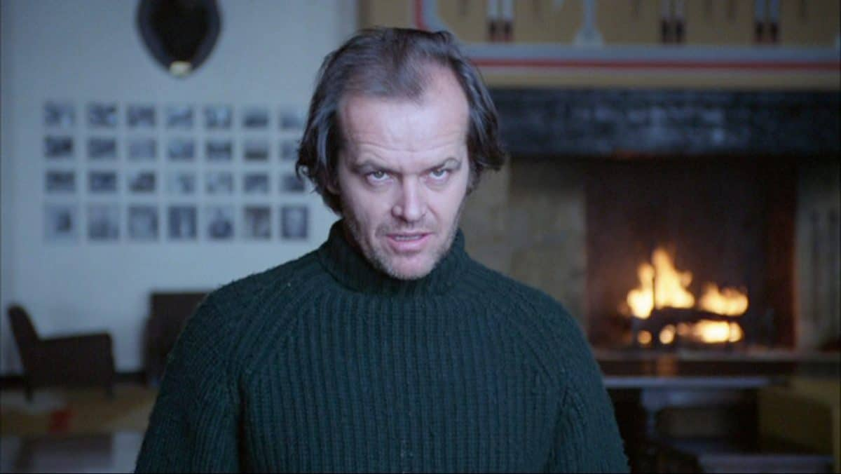 Jack loses himself, quite literally, in his caretaker responsibilities at the Overlook Hotel.