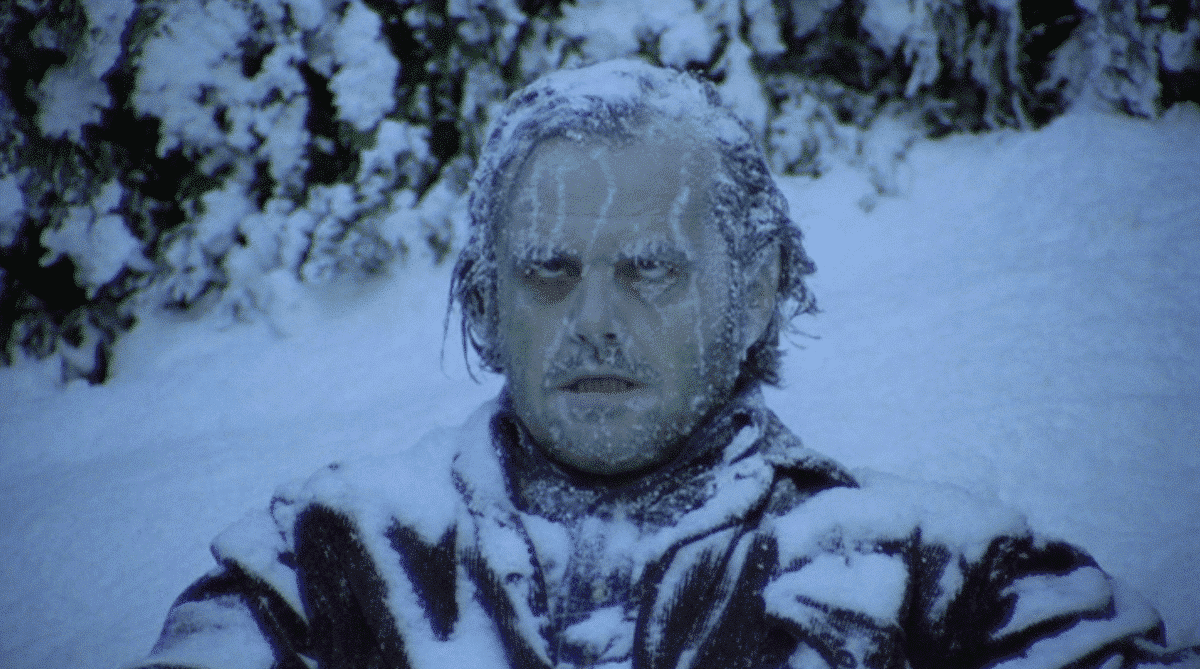 Frozen into a psychocicle, Jack proves Stasis = Death as he failed his journey to become a better man.